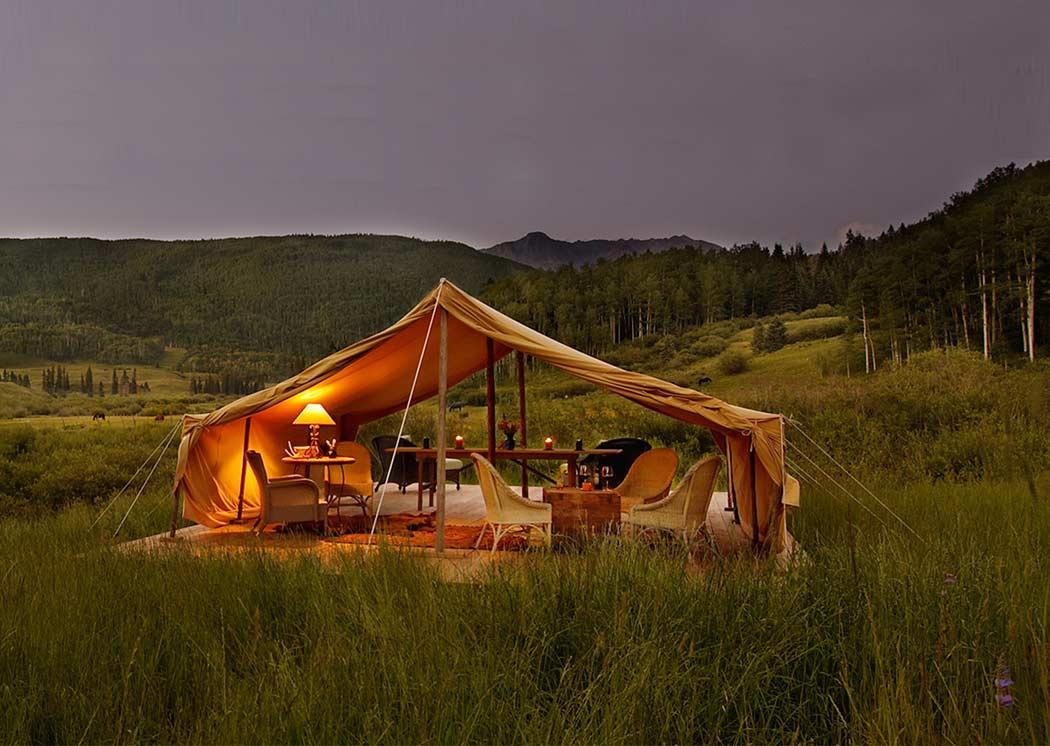 Colorado Dunton Luxus Camping
