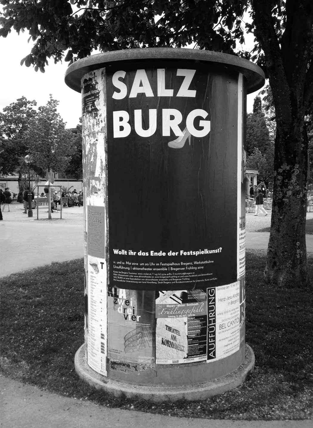 Litfaßsäule Bregenz