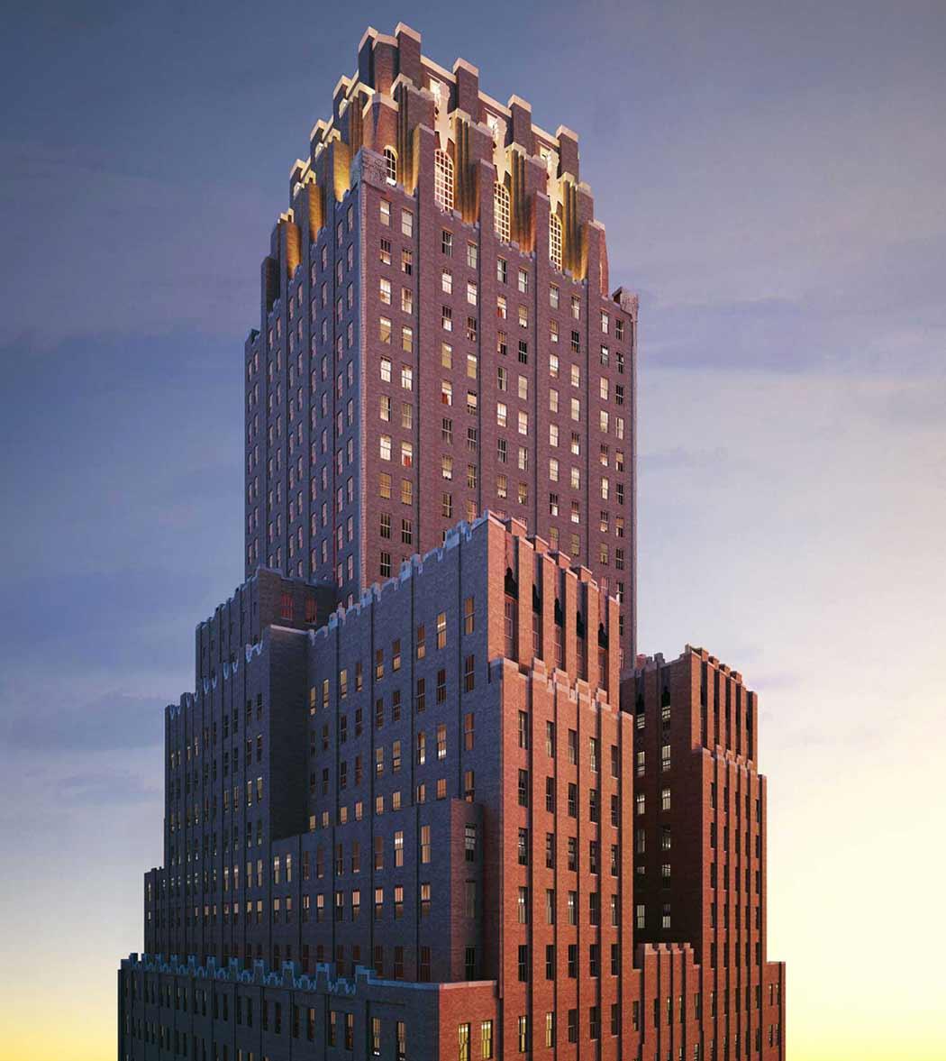 Ralph Walker High-Rise New York