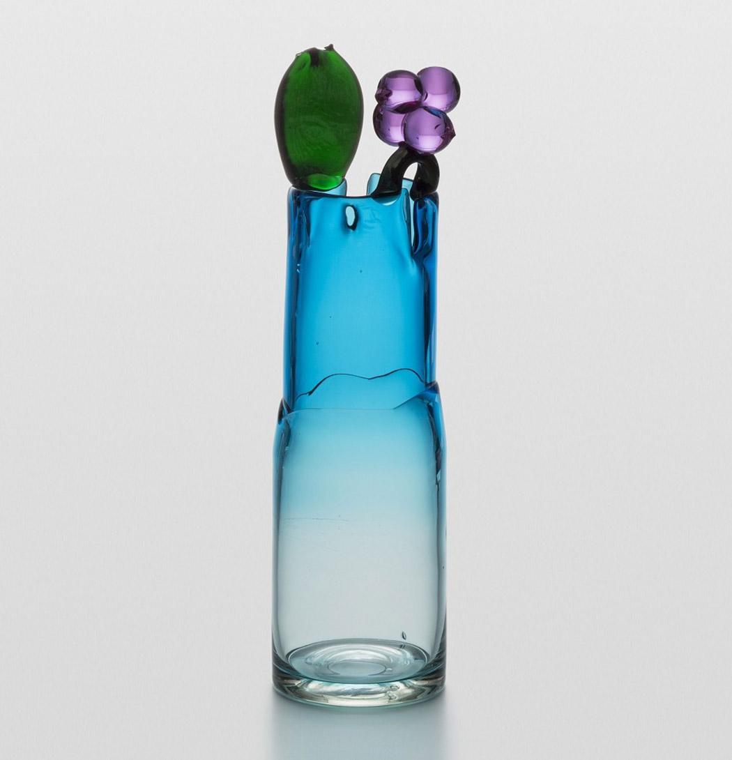 Vase aus venezianischem Glas