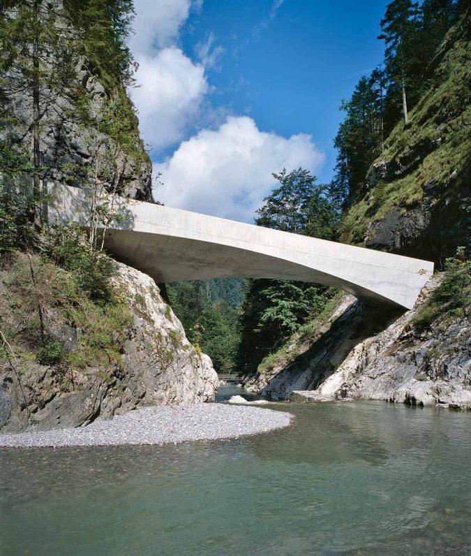Schanerlochbrücke Ebnit Dornbirn