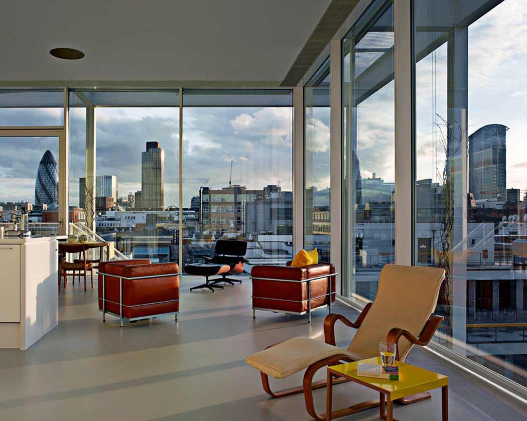 Tonkin Liu London Roof Top Apartment