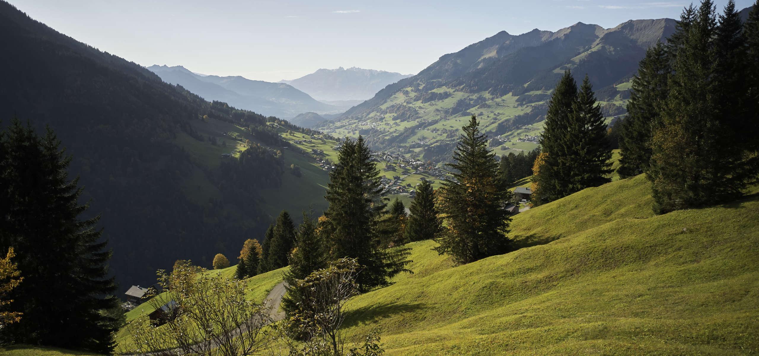 Walser valley Vorarlberg