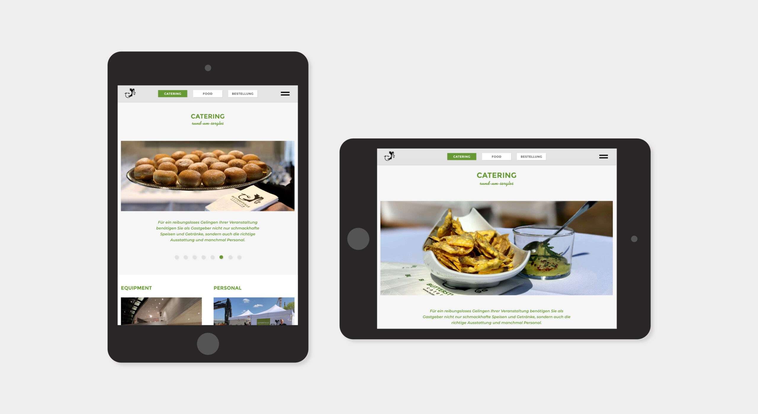 Butterstulle website tablet