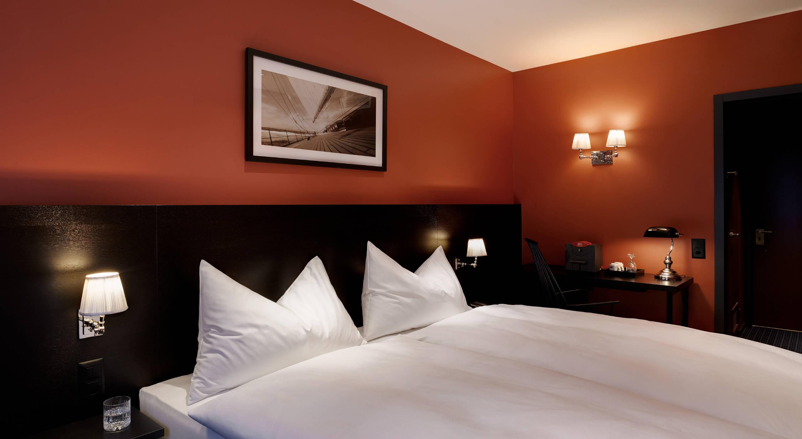 Hotel City Zürich Bedroom