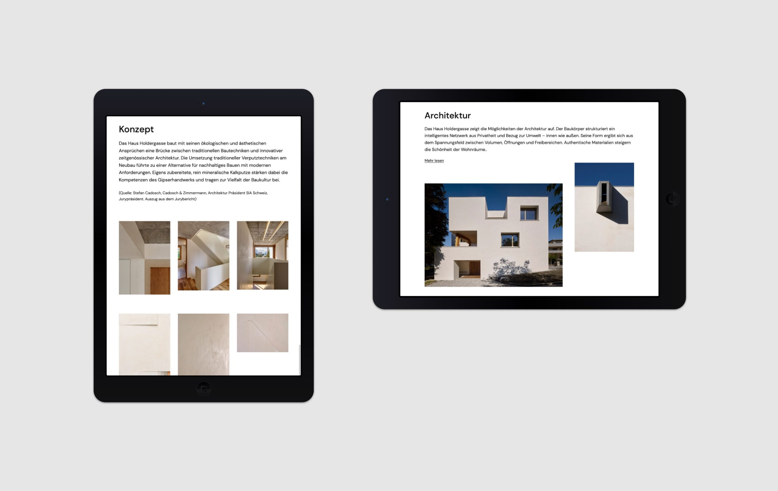 Website Haus Holdergasse Portfolio 5